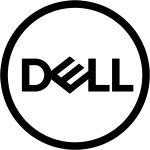 Dell logo in grey