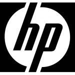 hp logo in grey