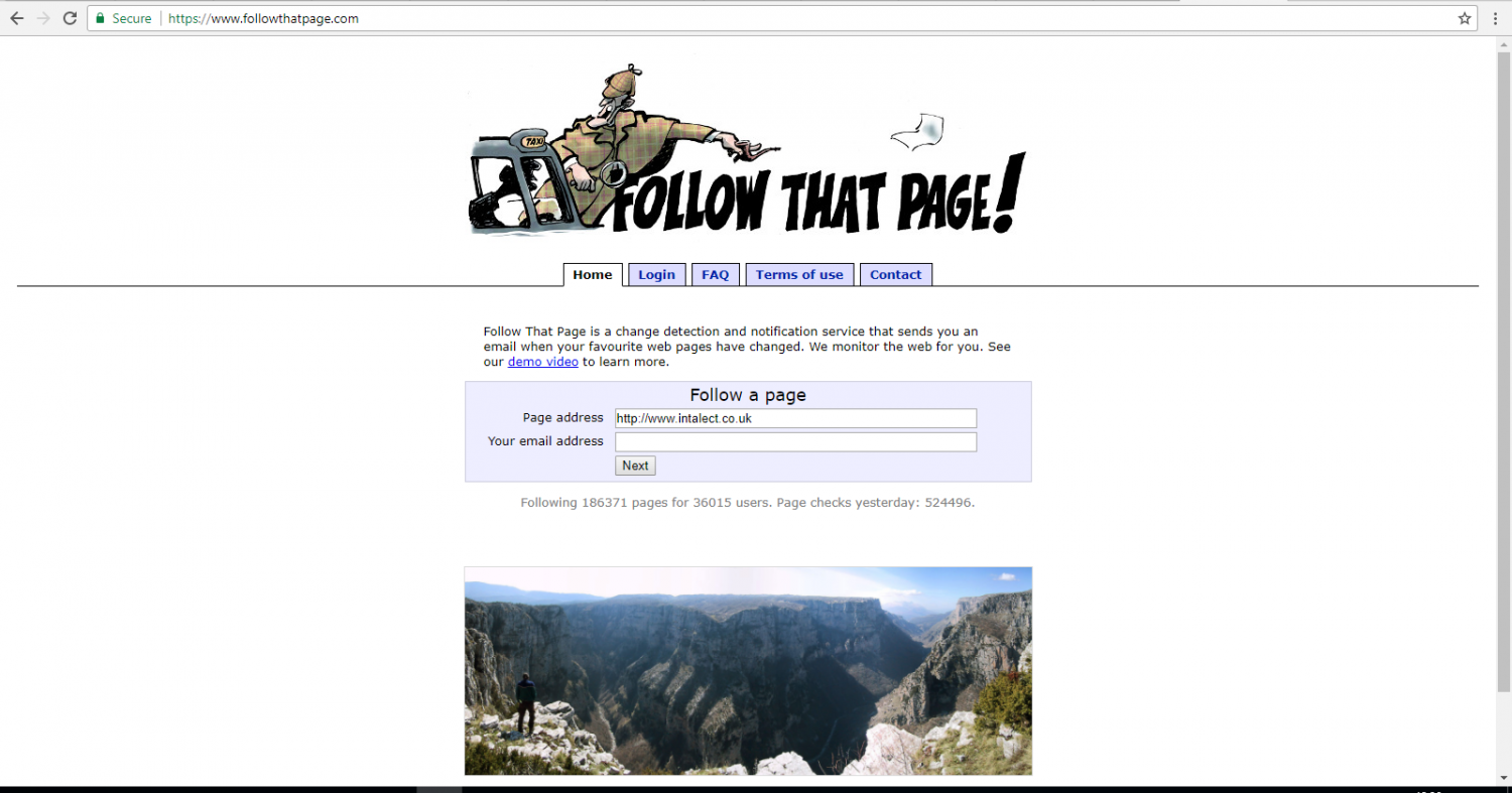 Picture of follow that page.com