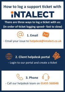 How to log a ticket- explanation document